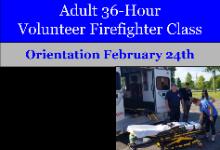 36 Hour Volunteer Firefighter