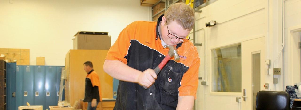 CBM Student hammers