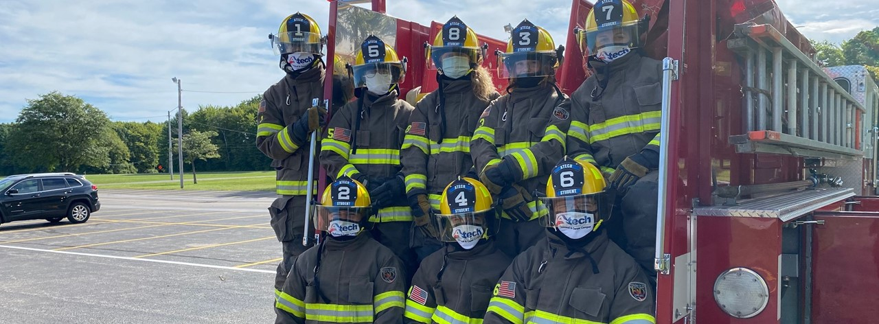 A-Tech Firefighter students